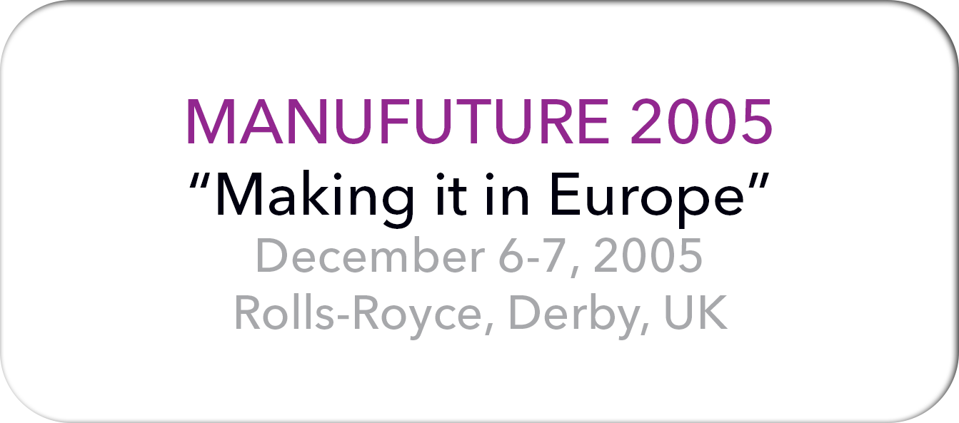 Manufuture 2005