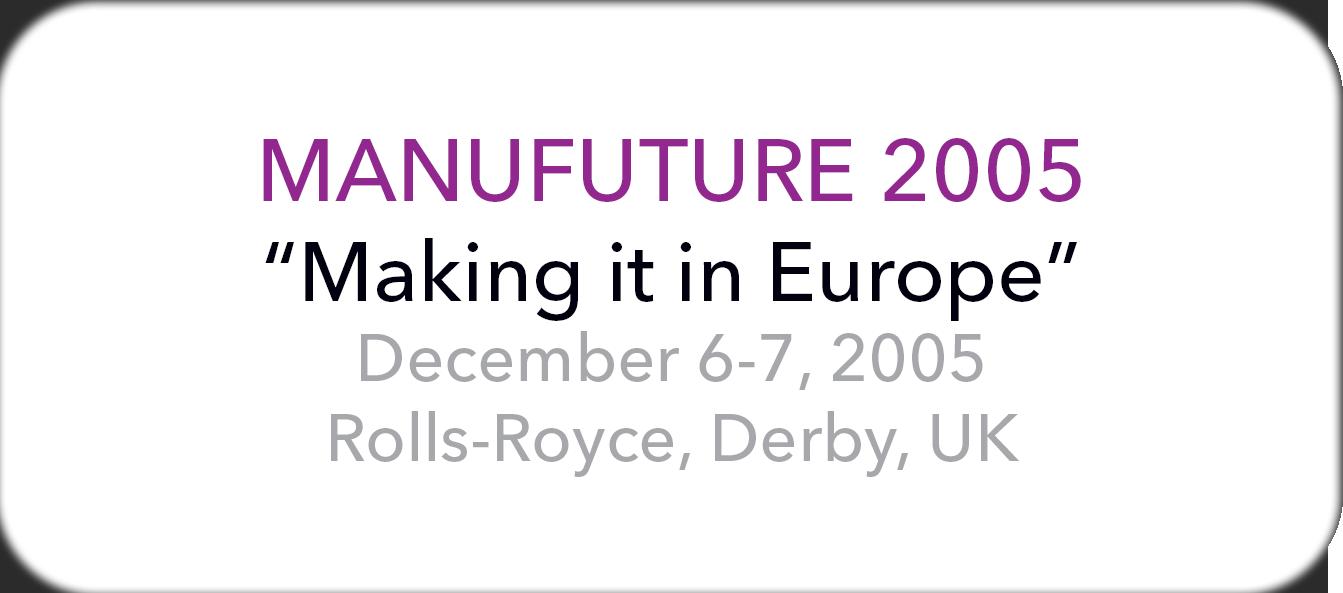 Manufuture 2005