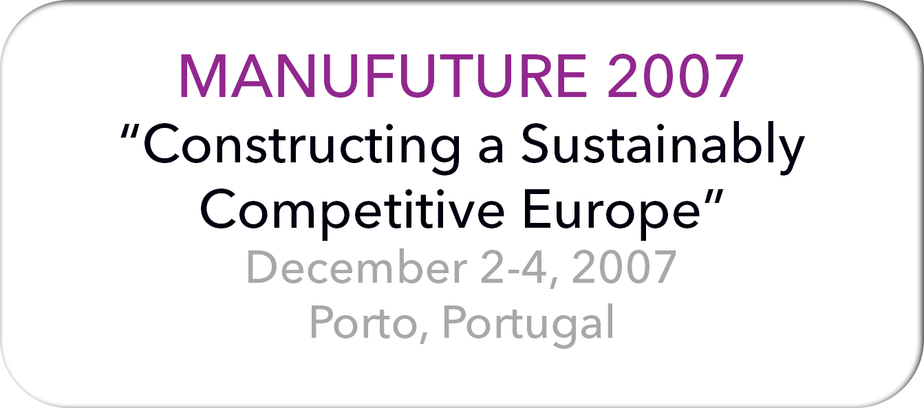 Manufuture 2007