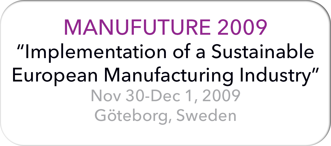 Manufuture 2009