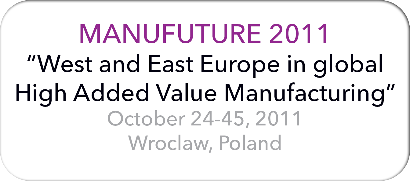 Manufuture 2011