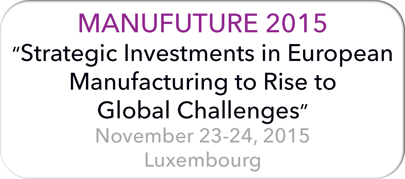 Manufuture 2015