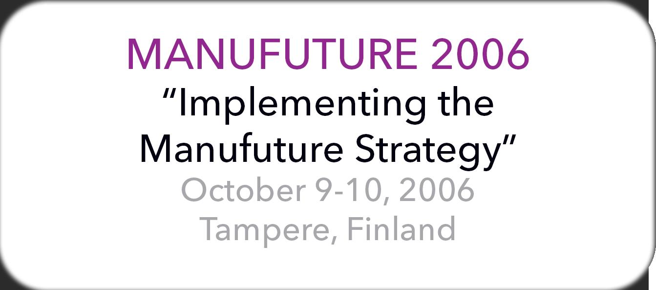 Manufuture 2007
