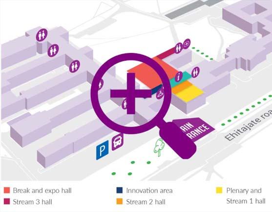 TTÜ campus map